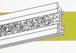 Portatelas panel para mecanismo estor plegable paqueto - Mecanismo estor paqueto ...