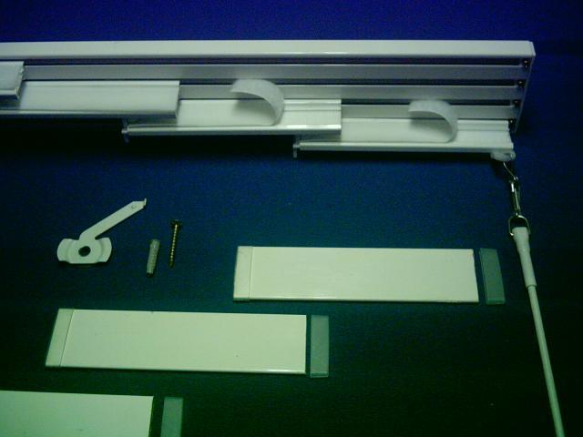 Mecanismo panel japones con tirador